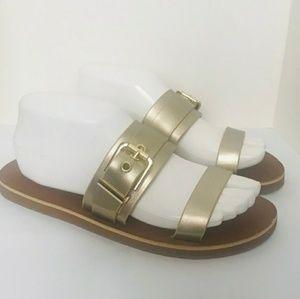 ALDO Metallic Sandals